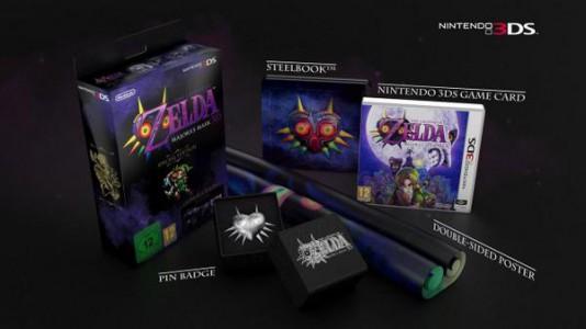 The Legend of Zelda Majoras Mask 3D LE