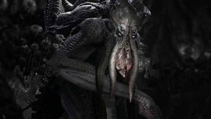 Krakenmonster in Evolve