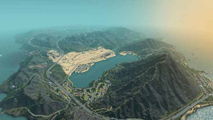 Los Santos GTA 5 in Cities Skyline