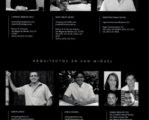 Arquitectos en SMA