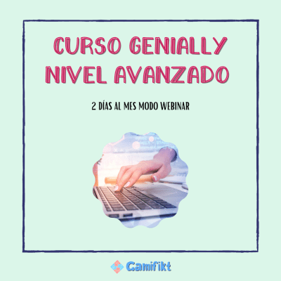 Curso Genially nivel avanzado 2ª convocatoria