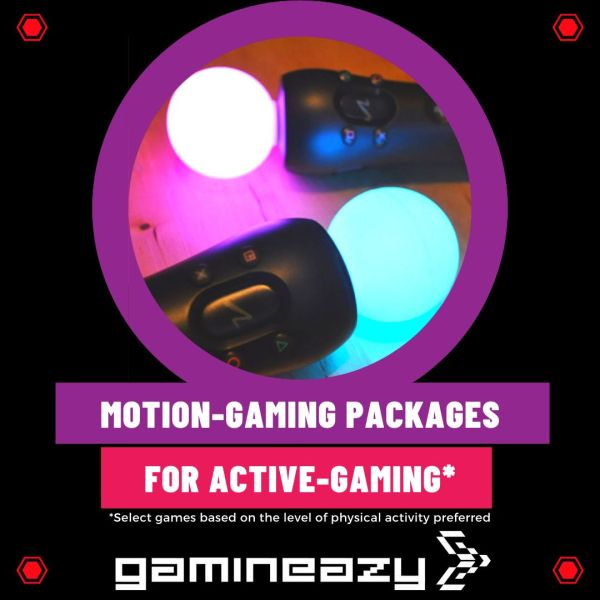 Motion Gaming Console Rental Combo