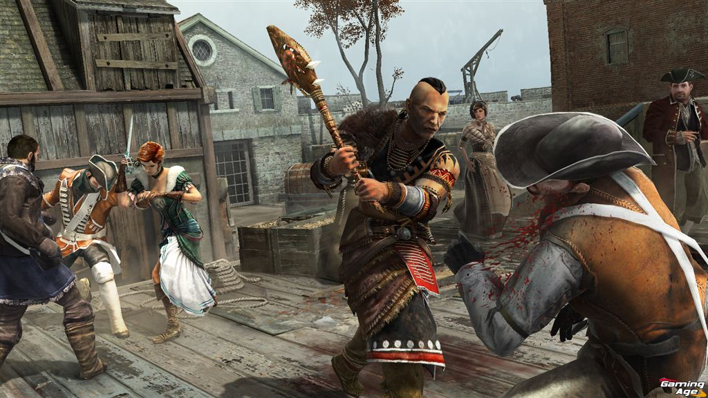 Visit Colonial Boston In The New Assassin S Creed Iii Walkthrough