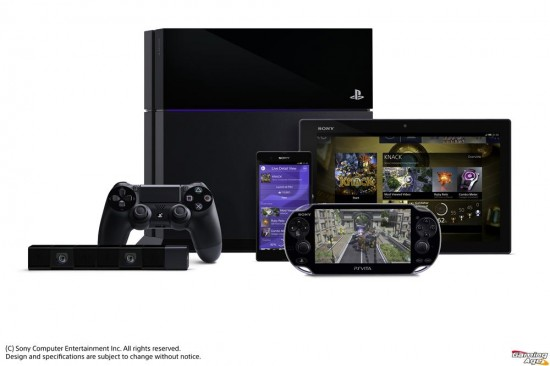 ps4 with vita tablets