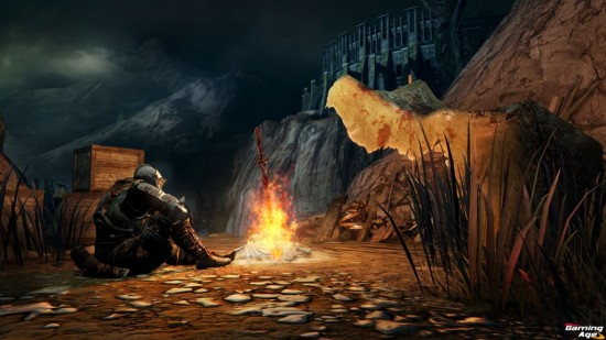 Dark Souls II_Bonfire_Rest
