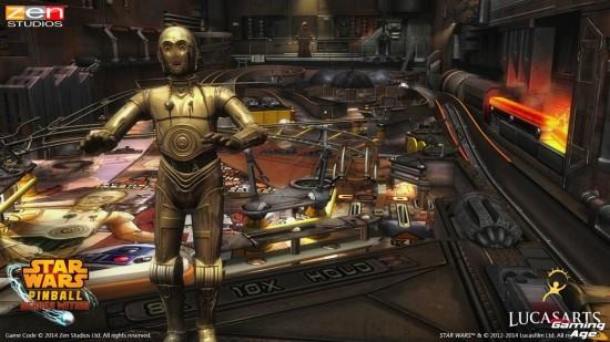 Star Wars Pinball Droids C-3PO