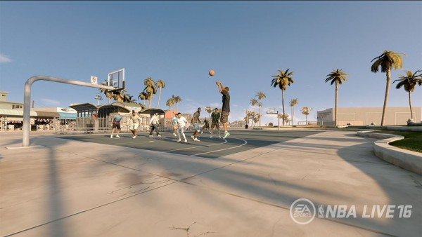 NBA LIVE 16 Pro Am Screenshot