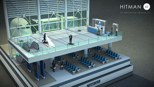 hitman go_airport