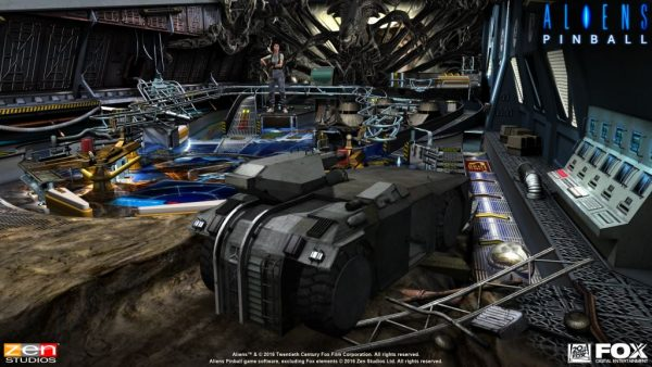 Aliens vs Pinball Launch Screenshot - 1