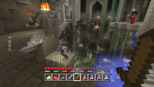 Minecraft_Battle_Cavern2
