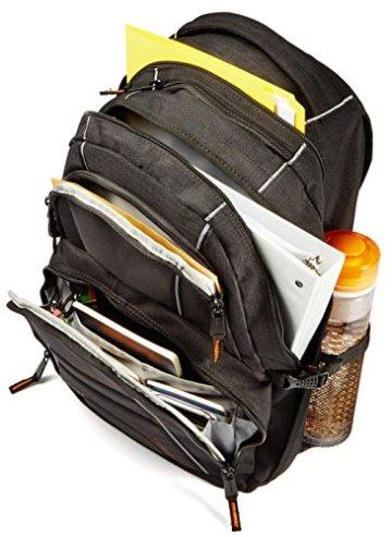 AmazonBasics Laptop-Rucksack geeignet für 43,2 cm (17 Zoll) - 3