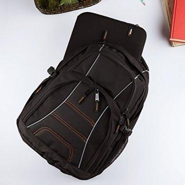 AmazonBasics Laptop-Rucksack geeignet für 43,2 cm (17 Zoll) - 8
