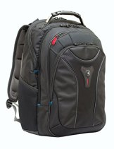 "Wenger 600637 CARBON 17"" Macbook Pro Backpack (Black) - 1"
