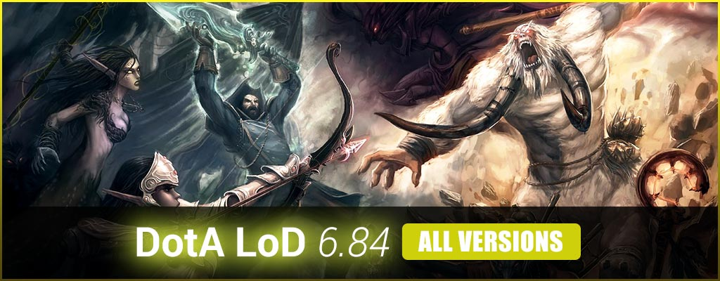Dota LoD 684 Series For RGC Legends Of Dota 684