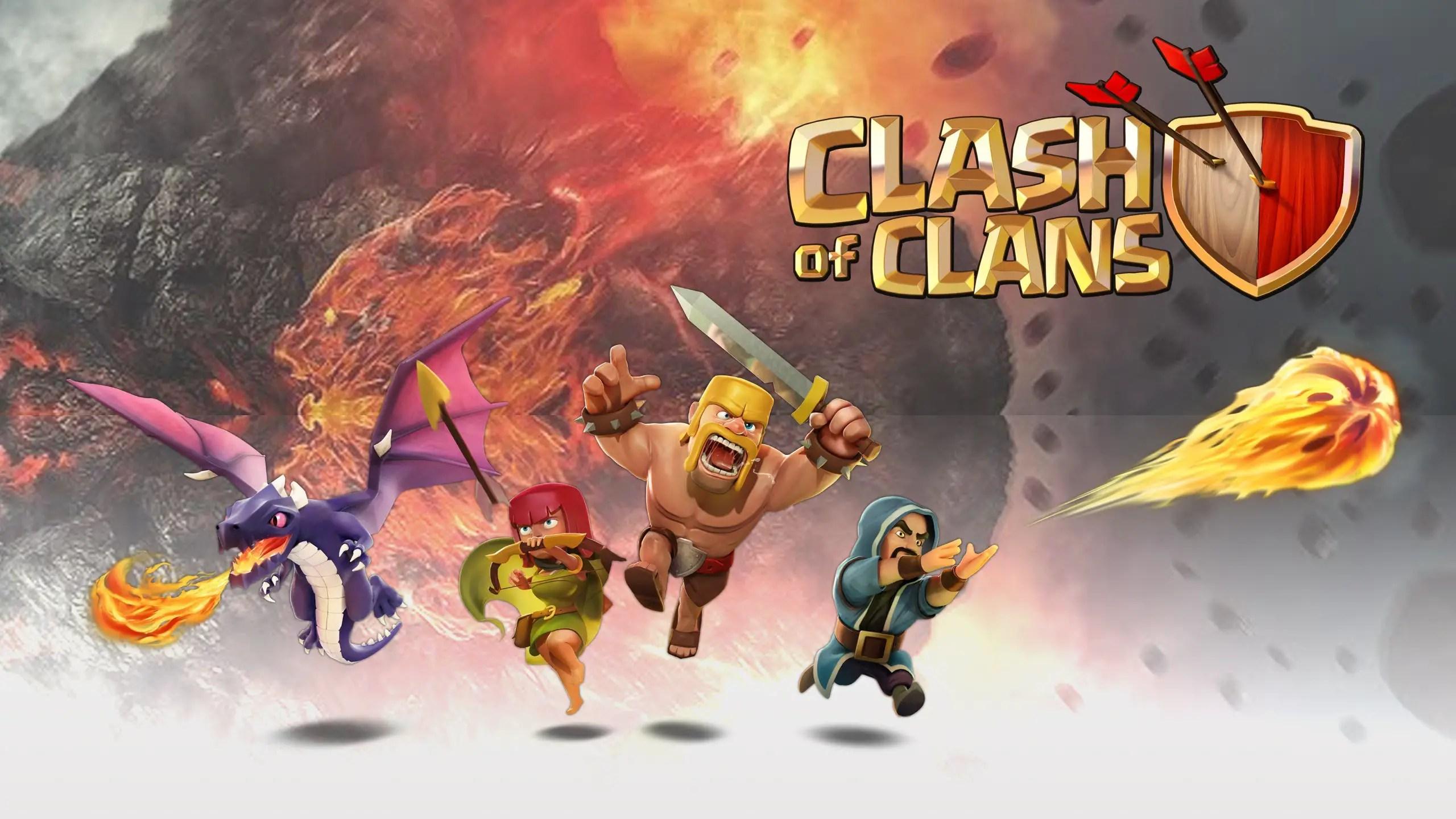 Clash Clans Background
