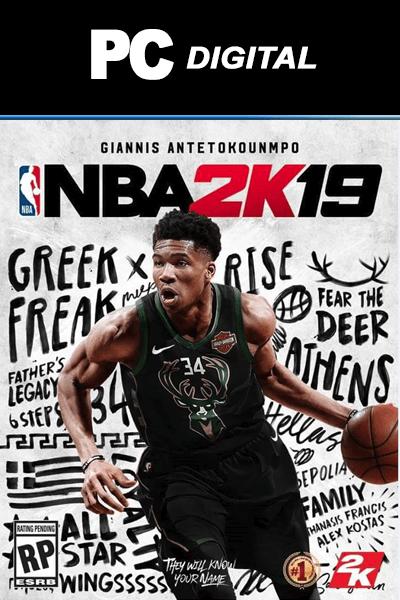 NBA 2K19 PC標準版(Steam下載)