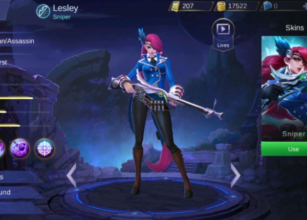 Гайд на Лесли в игре Mobile Legends
