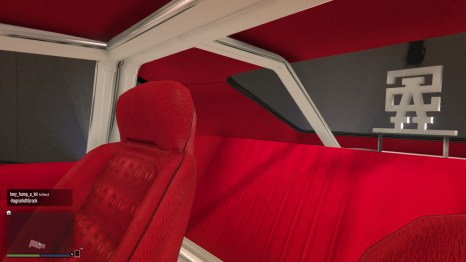 Sabre Turbo Interior Back GTA V