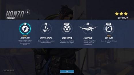 Hanzo Defence Abilities Overwatch
