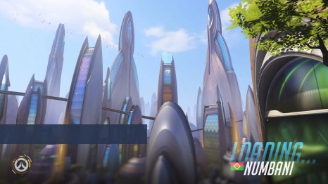 Loading Numbani Overwatch