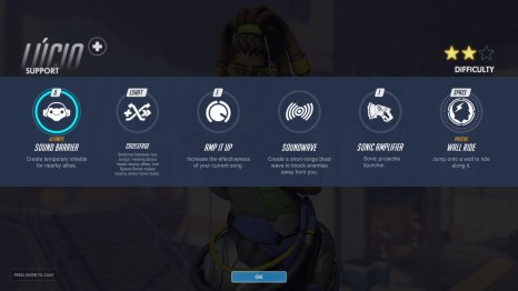 Lucio Support Abilities Overwatch