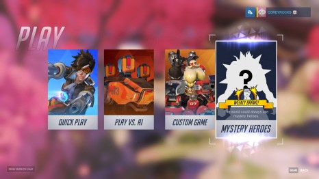 Overwatch Game Types
