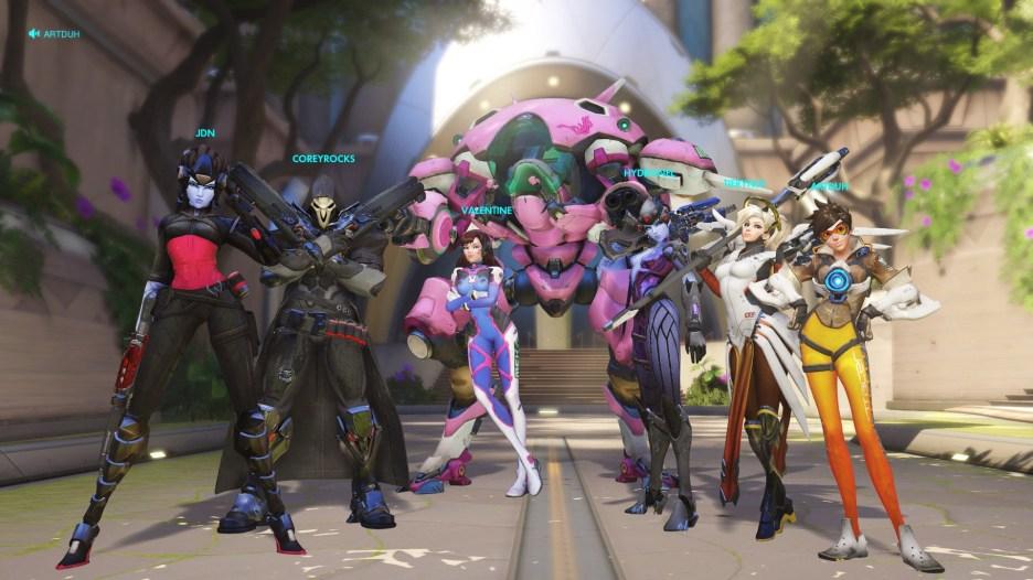Overwatch Winning Team