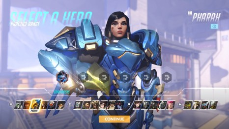 Pharah Overwatch Hero