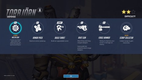 Torbjorn Defence Abilities Overwatch