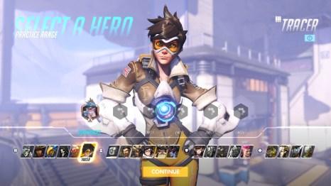 Tracer Hero Overwatch