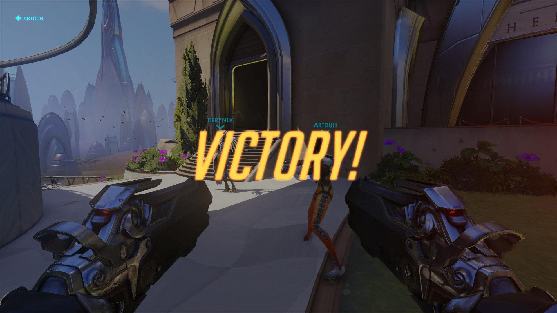 VICTORY Overwatch Newb Gaming
