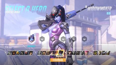 Widowmaker Overwatch Hero