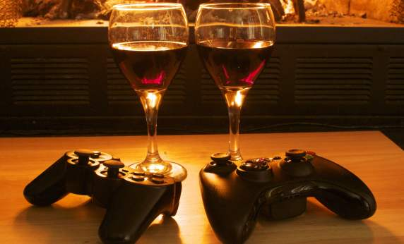 game night date""