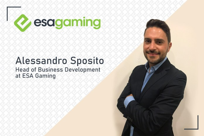 Exclusive Q&A with Alessandro Sposito, Head of Business Development at ESA Gaming