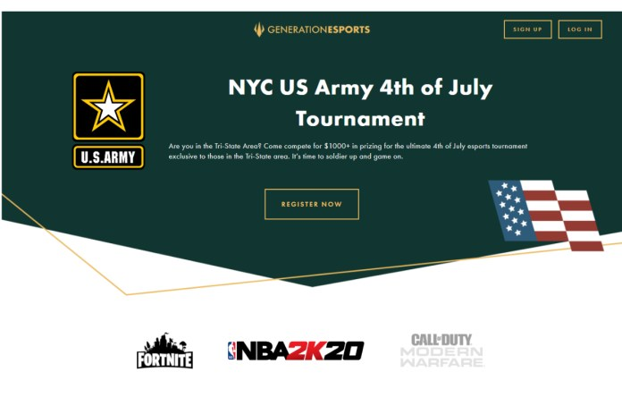 Generation Esports and the United States Army Enlist New Yorkers for Epic Independence Day
