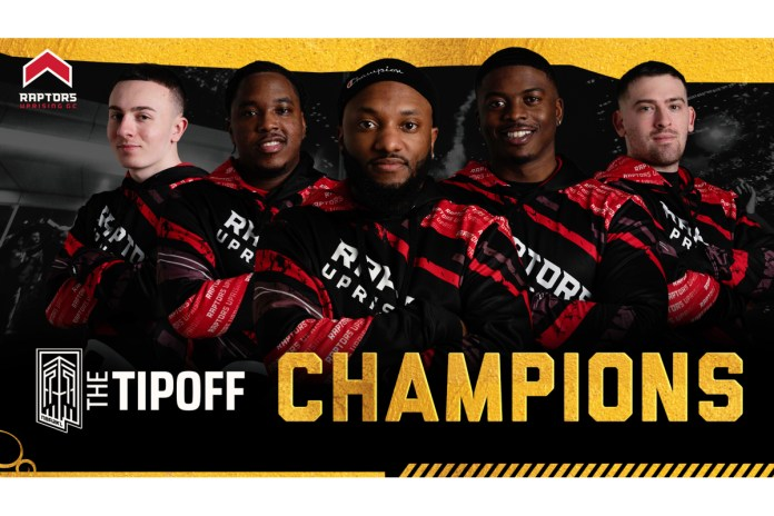 RAPTORS UPRISING CROWNED CHAMPIONS OF THE TIPOFF TOURNAMENT POWERED BY AT&T