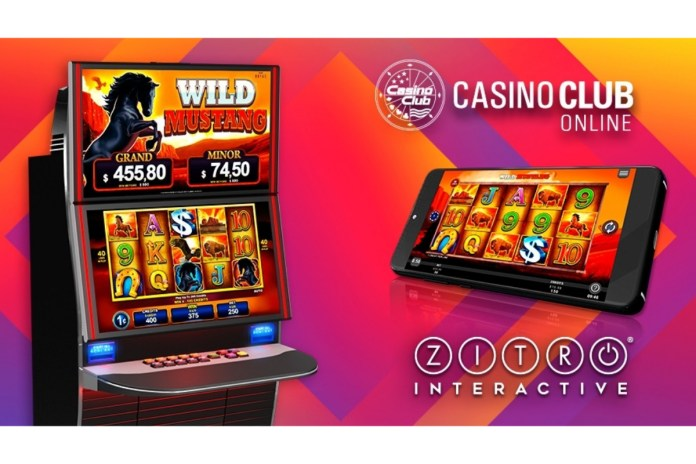 Zitro Games Arrive To Casino Club Online