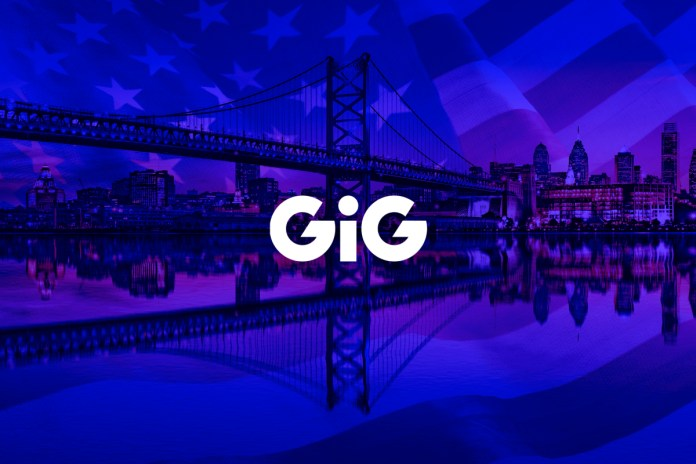 GiG receives CSIE license in New Jersey, USA
