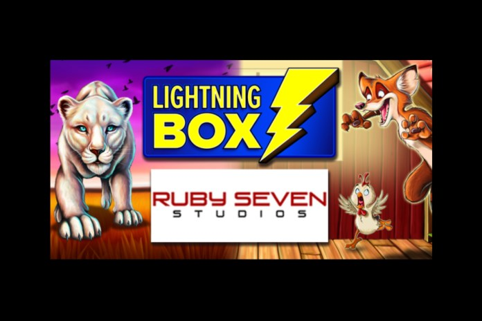 Lightning Box to supply games to Ruby Seven Studios