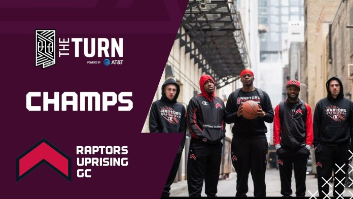 RAPTORS UPRISING CROWNED CHAMPIONS OF THE TURN TOURNAMENT POWERED BY AT&T