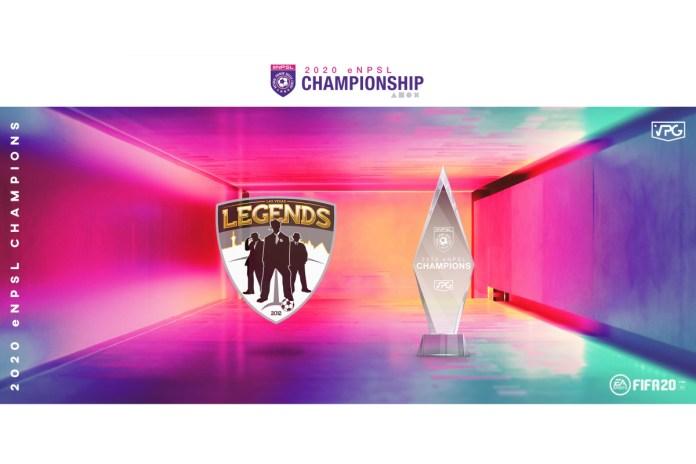 Las Vegas Legends Capture 2020 VPG eNPSL Championship