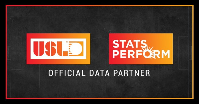 Stats Perform Secures The Official USL Worldwide Betting Data Rights to Become Number One Collector and Distributor of US Soccer Media and Betting Data