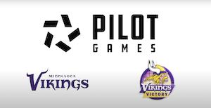Pilot Games Teams Up With Minnesota Vikings