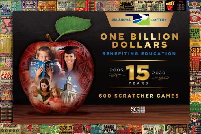 Scientific Games Congratulates Oklahoma Lottery On Topping $1 Billion In Contributions To K-12 Education