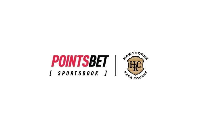 PointsBet Online and Mobile Sports Betting Live in State of Illinois; Flagship Hawthorne Race Course Retail Location and Three Premium Off-Track Betting Sites to Follow Soon