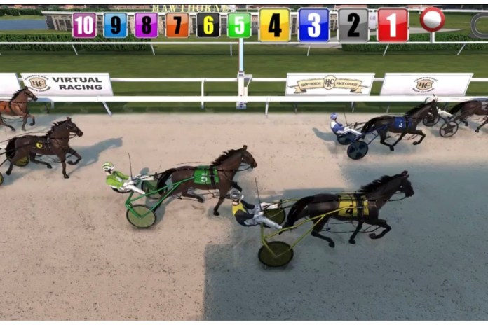 Hawthorne goes live with new concept in pari-mutuel virtual racing products