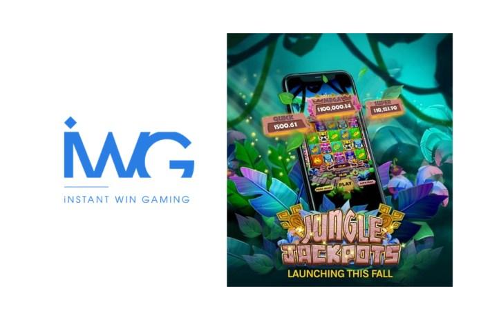 IWG announces progressive jackpot e-Instant games