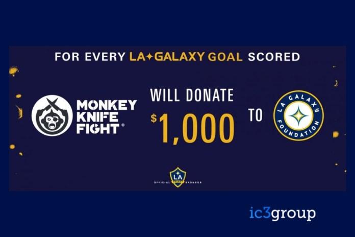 Monkey Knife Fight And LA Galaxy Create Charitable Initiative For 2020 MLS Season