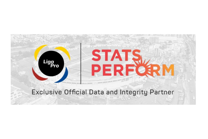 Ecuador football appoints Stats Perform as Exclusive Official Data & Integrity Partner