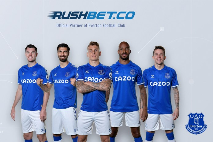 EVERTON SECURES FIRST COMMERCIAL PARTNER IN COLOMBIA WITH RUSHBET.CO